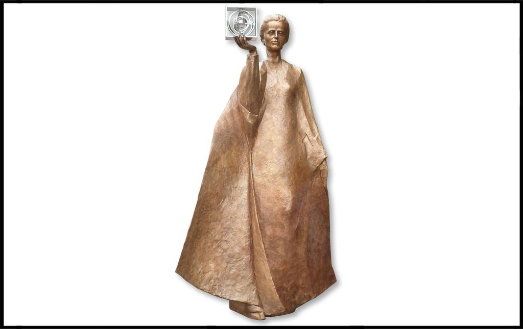 pomnik marii sklodowskiej-curie