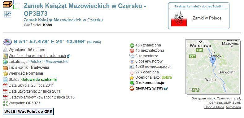 Czersk Off Varsav Krotki Wypad Za Miasto Zew Przygody