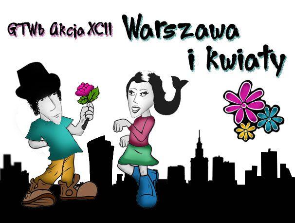 warszawa i kwiaty