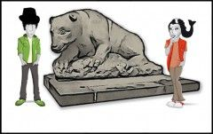 Legenda o kamiennym niedźwiedziu