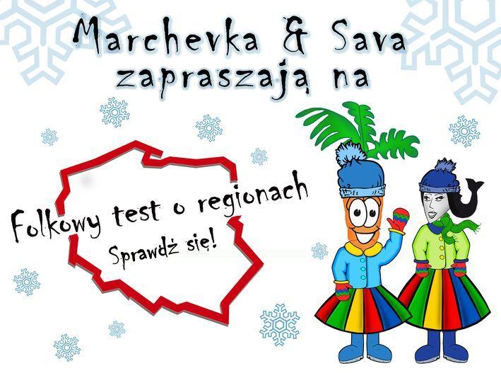 folkowy test o regionach