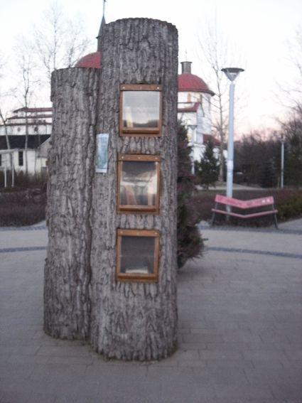 biblioteka plenerowa park przy bazantarni