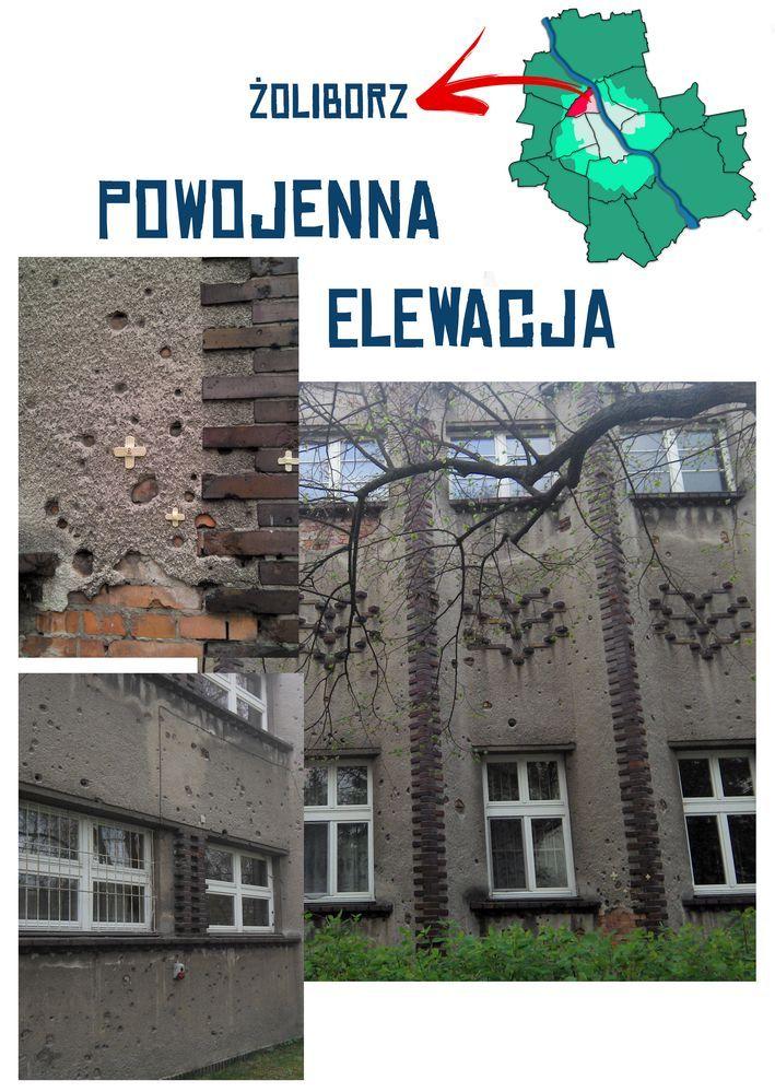 zoliborz_powojenna elewacja