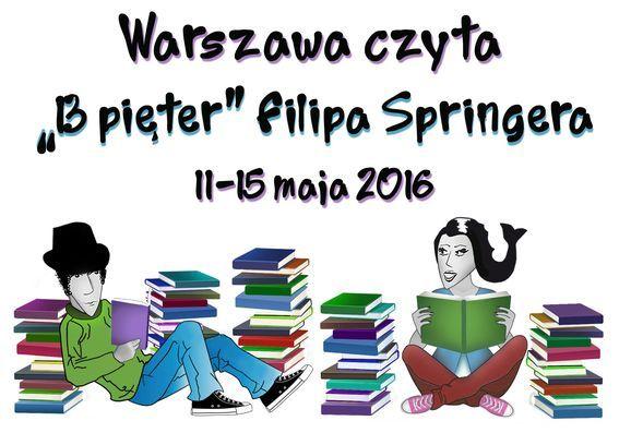 Warszawa czyta 13 pieter filipa springera