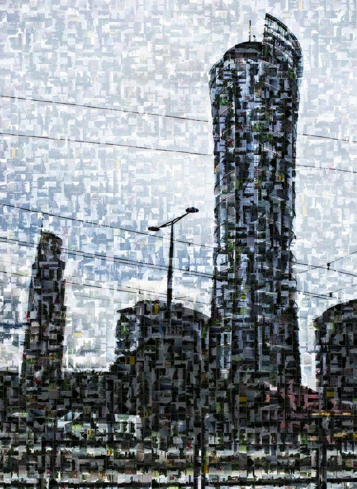 warsaw spire_mozaika