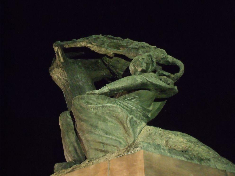 lazienki krolewskie noca3