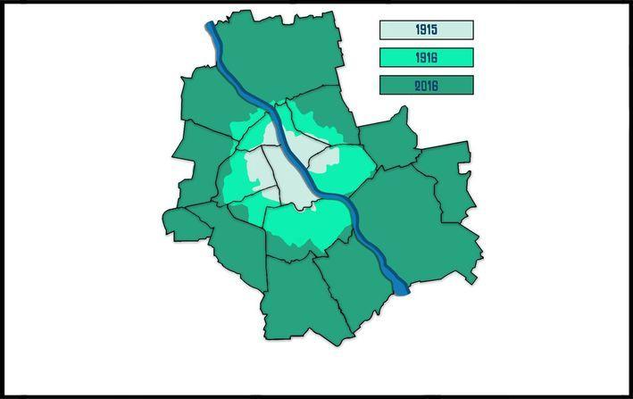 GTWb – Akcja CII – Sto lat, sto lat, niech żyją, żyją nam! Tereny włączone do Warszawy w 1916 r.