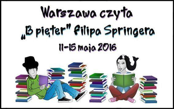 Warszawa czyta: 13 pięter Filipa Springera