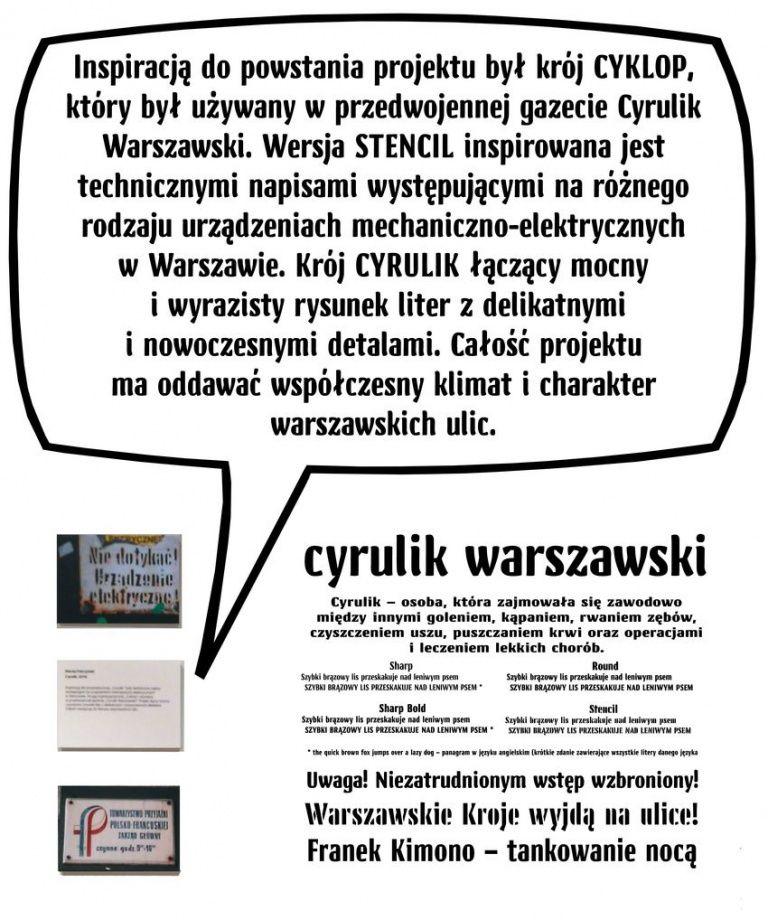 Warszawskie Kroje Cyrulik
