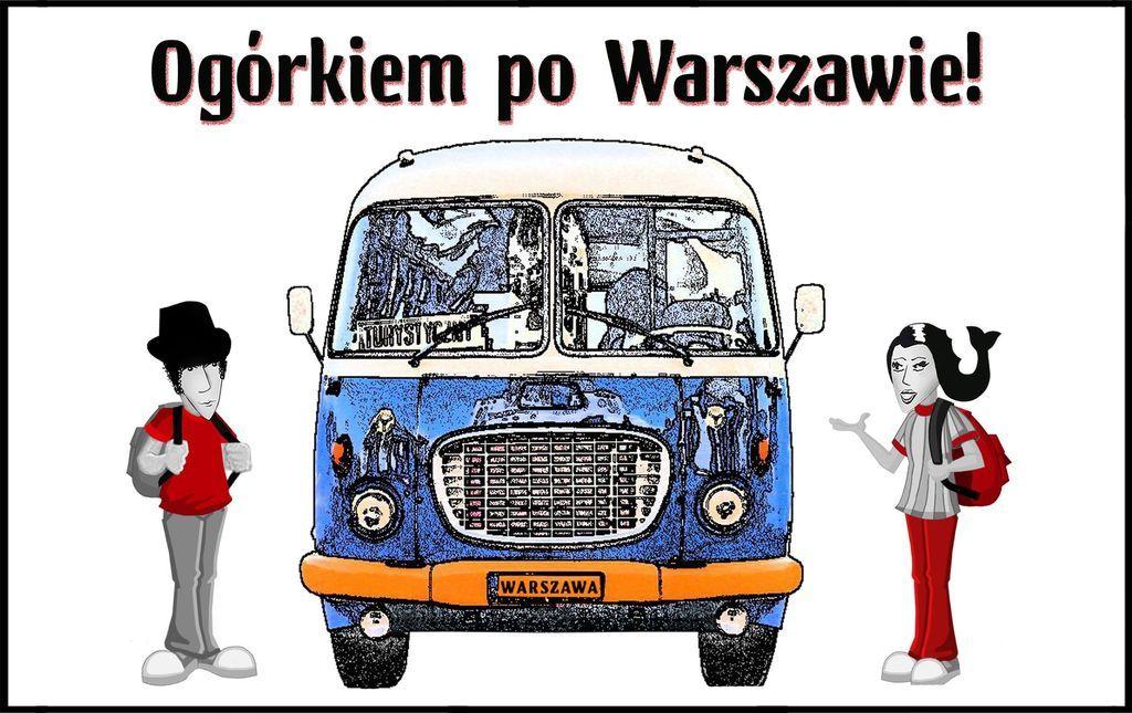 Ogórkiem po Warszawie