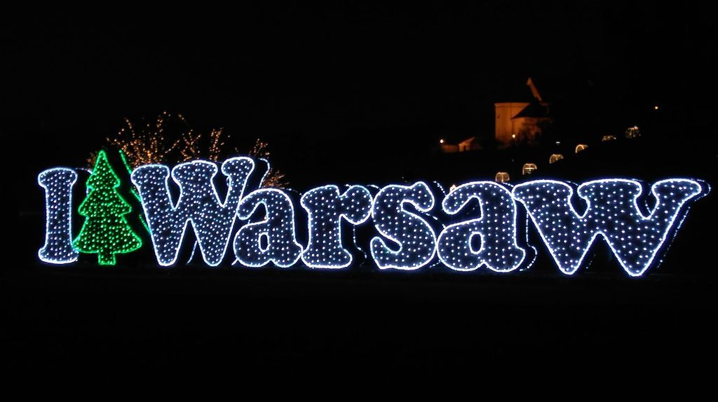 Iluminacja Warszawy