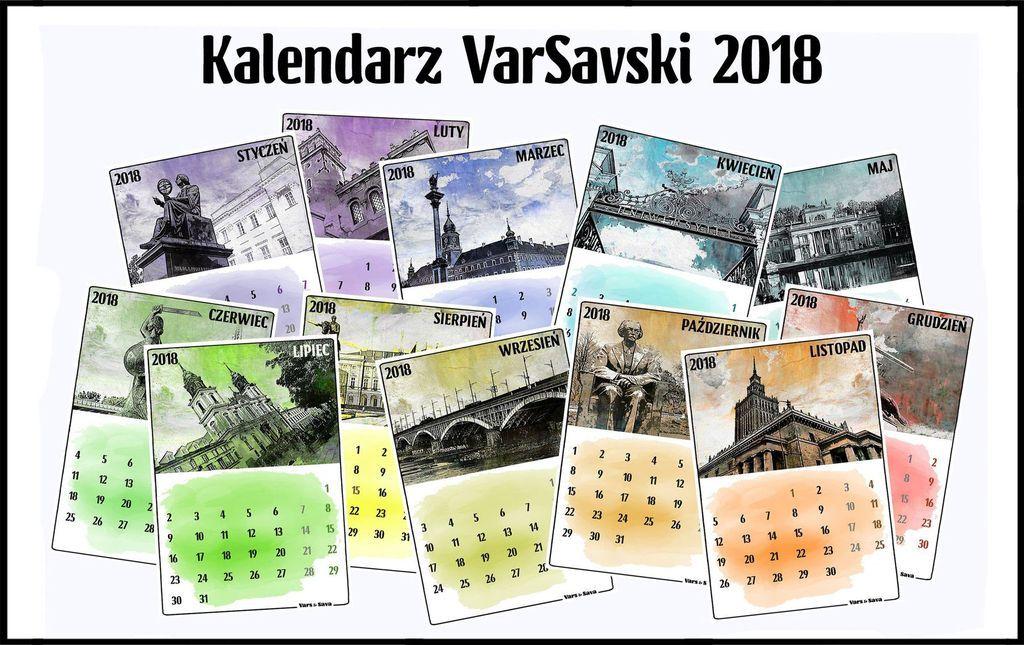 Kalendarz VarSavski 2018