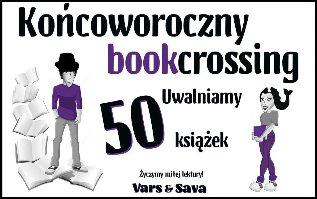 końcoworoczny bookcrossing