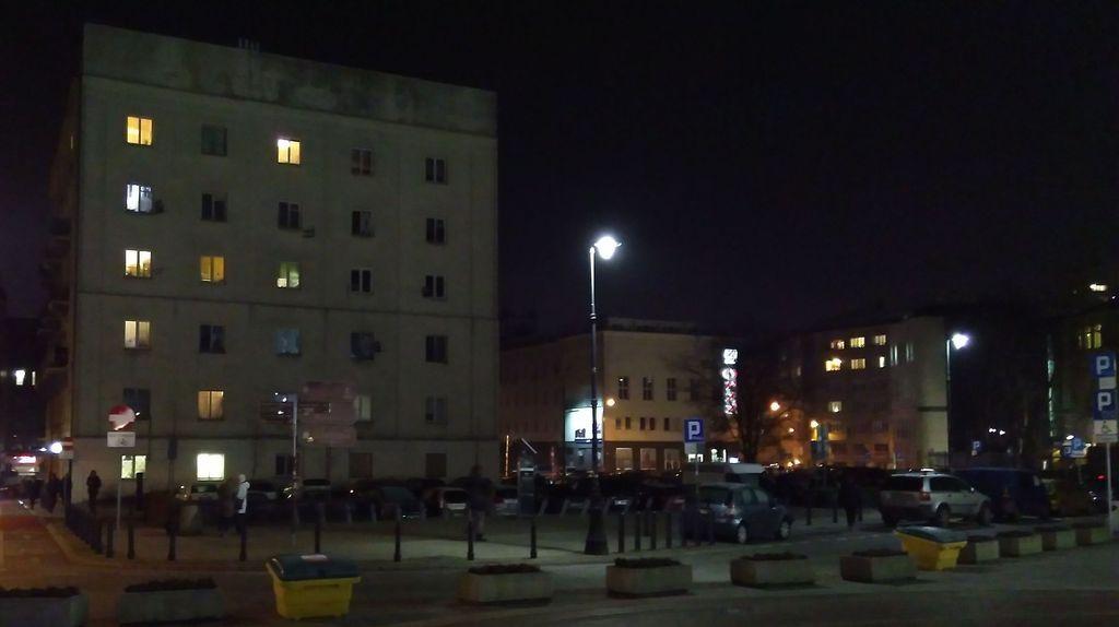 Ciemna twarz Krakowskiego Przedmieścia