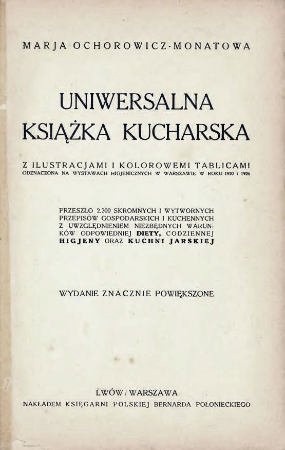 Uniwersalna książka kucharska