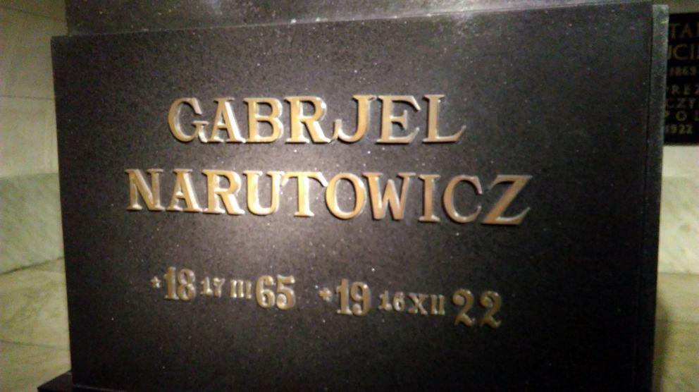 Zamach na prezydenta Gabriela Narutowicza