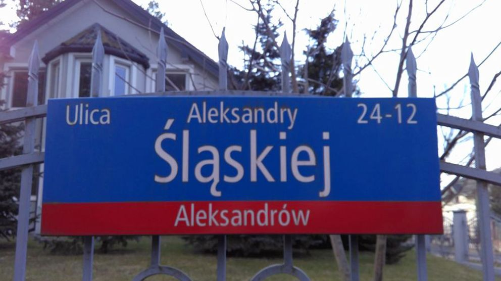 ulica Aleksandry Śląskiej