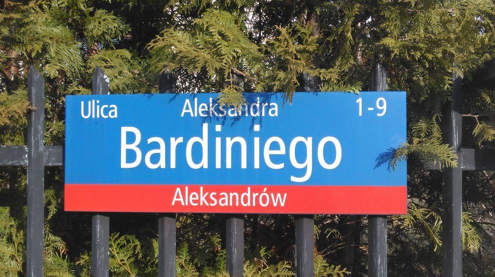 ulica Aleksandra Bardiniego