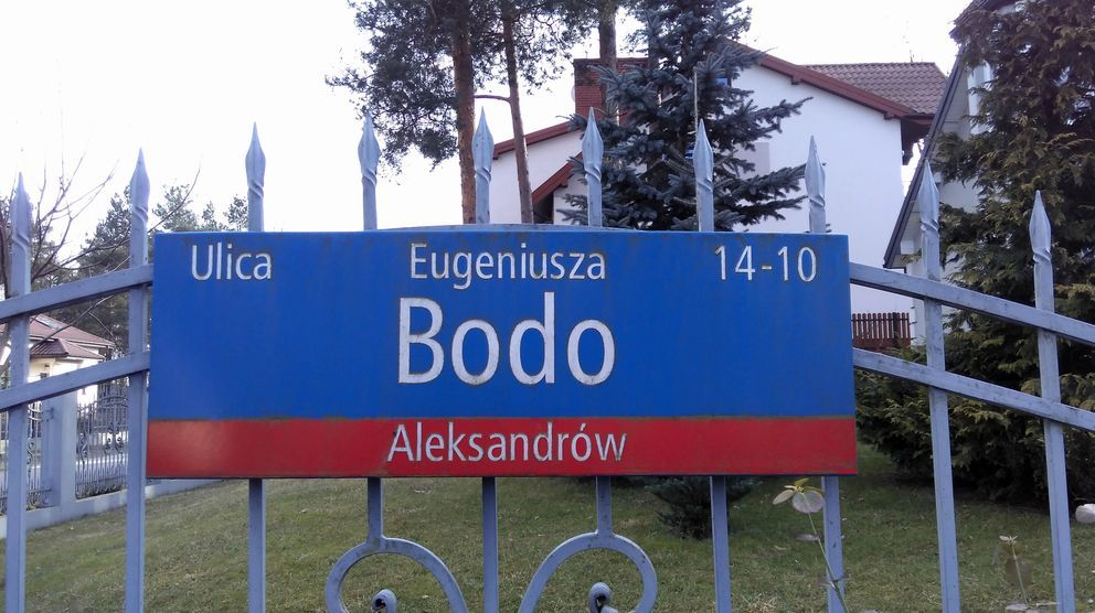 ulica Eugeniusza Bodo
