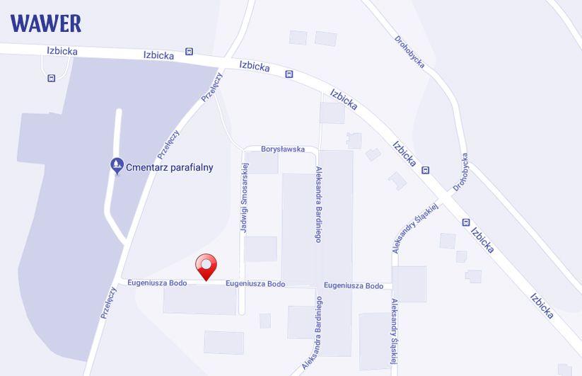 ulica Eugeniusza Bodo Warszawa