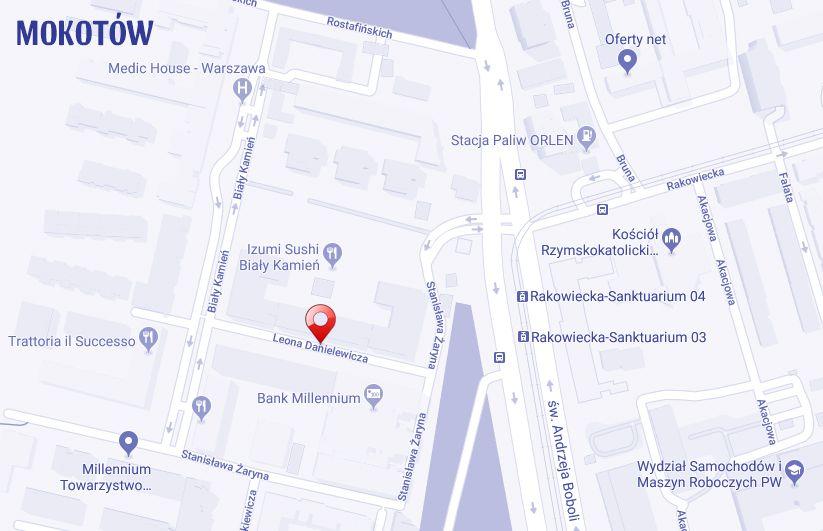ulica Leona Danielewicza Warszawa