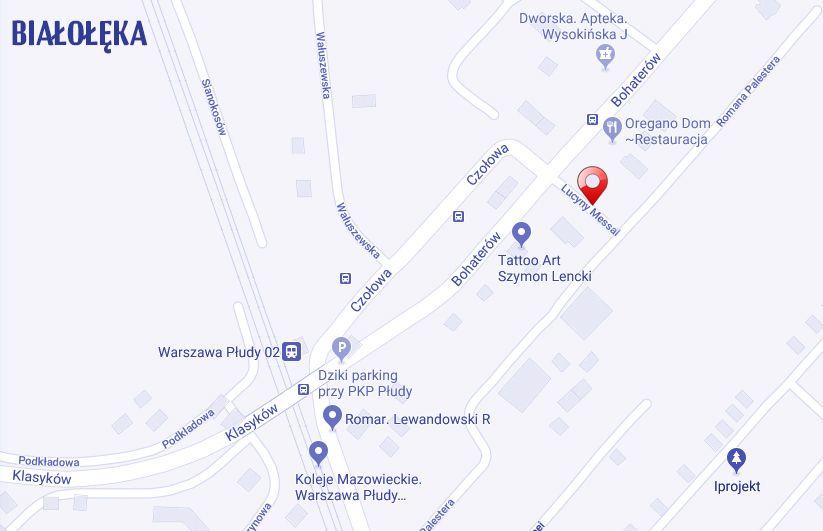 ulica Lucyny Messal Warszawa