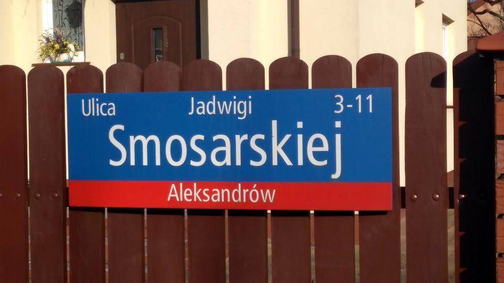 ulica Jadwigi Smosarskiej