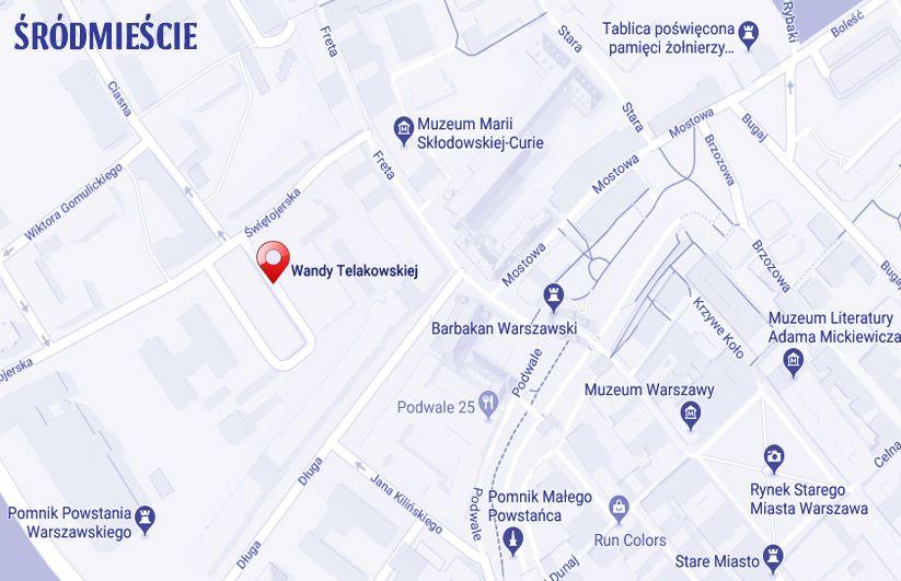 ulica Wandy Telakowskiej Warszawa
