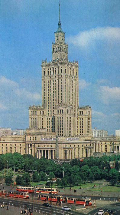 Pałac Kultury i Nauki Lata 60.