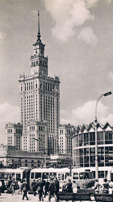 Pałac Kultury i Nauki Lata 70.