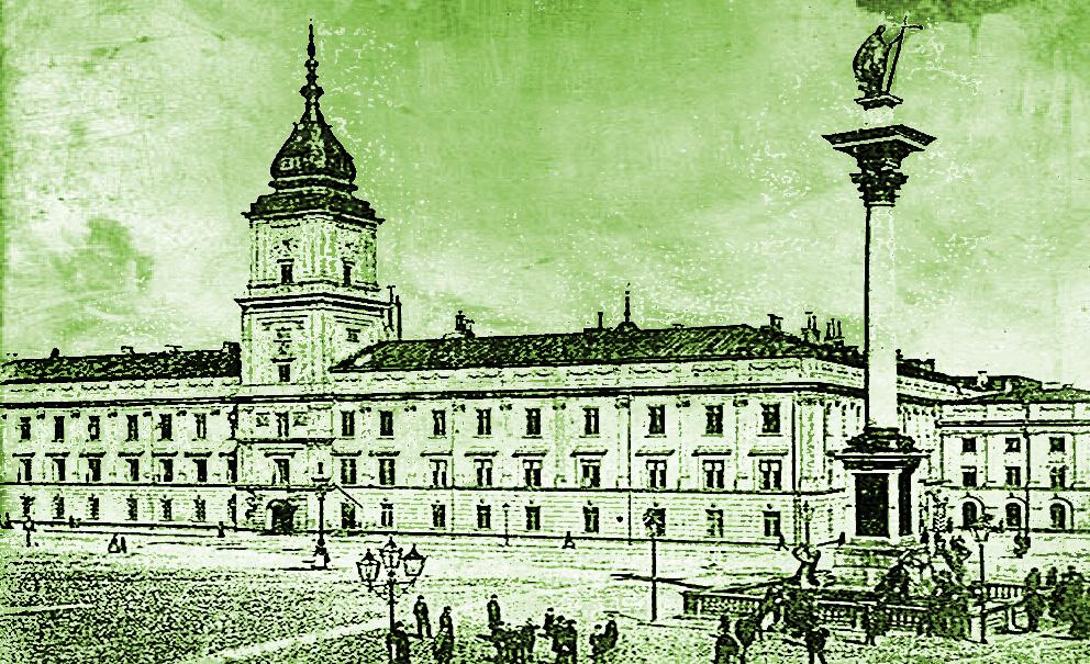 Zamek Królwski w Warszawie w XIX wieku