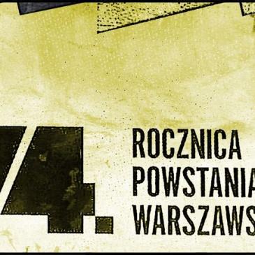 74.. rocznica Powstania Warszawskiego