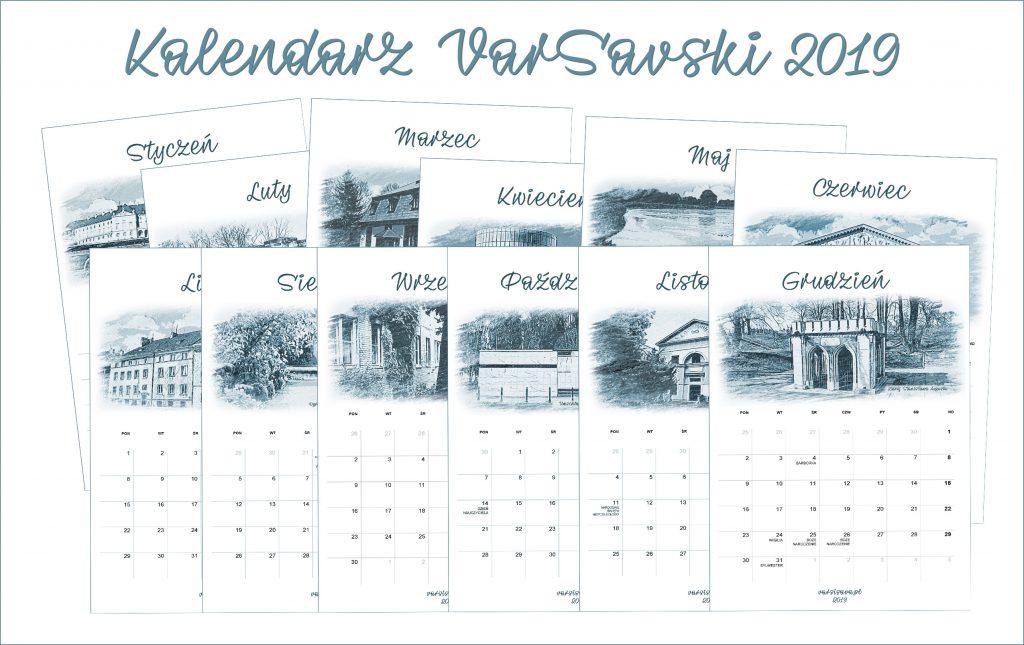 Kalendarz VarSavski 2019