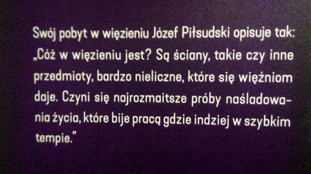 Józef Piłsudski w Cytadeli Warszawskiej