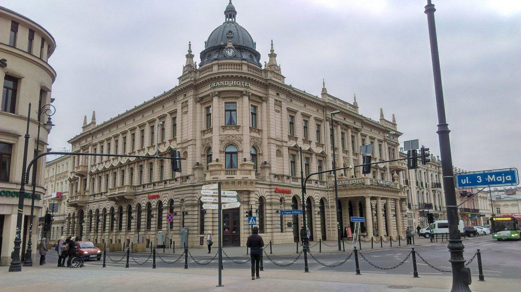 ul. Krakowskie Przedmieście Lublin – Grand Hotel
