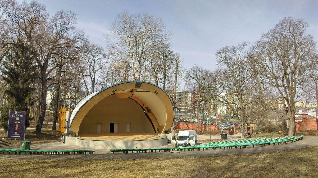 Park Saski w Lublinie