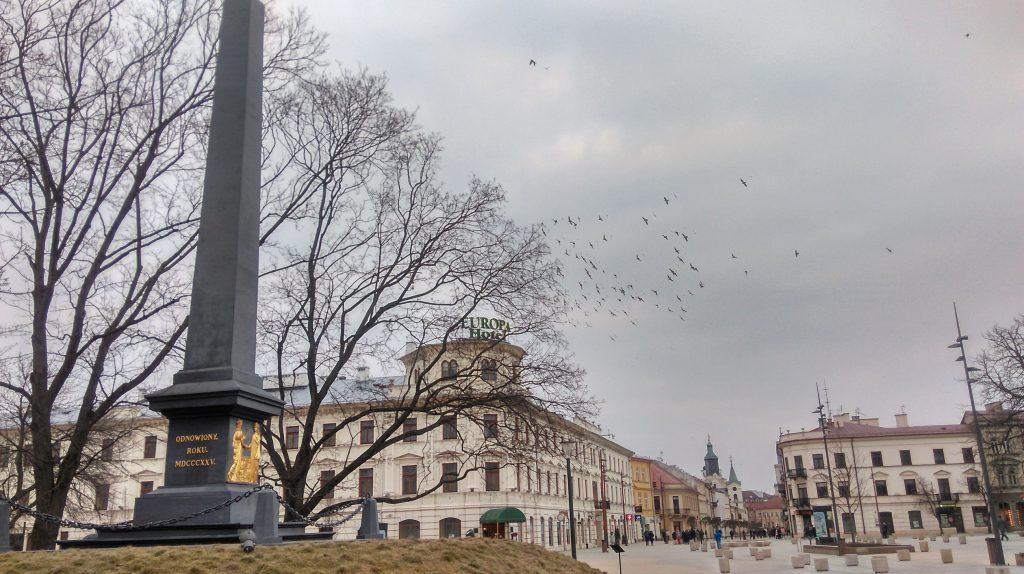 Pomnik Unii Lubelskiej pl. Litewski Lublin