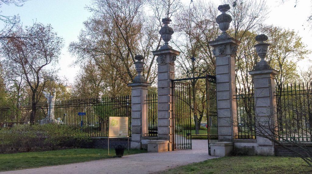 Ogród Krasińskich Brama