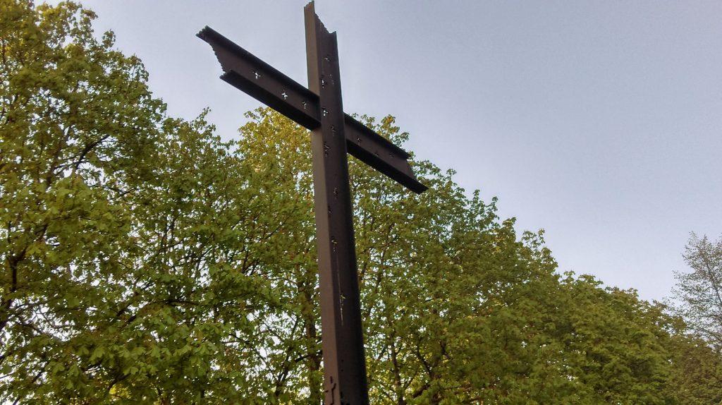 """Pomnik pamięci żołnierzy Powstania Warszawskiego batalionu AK """"Chrobry"""""""
